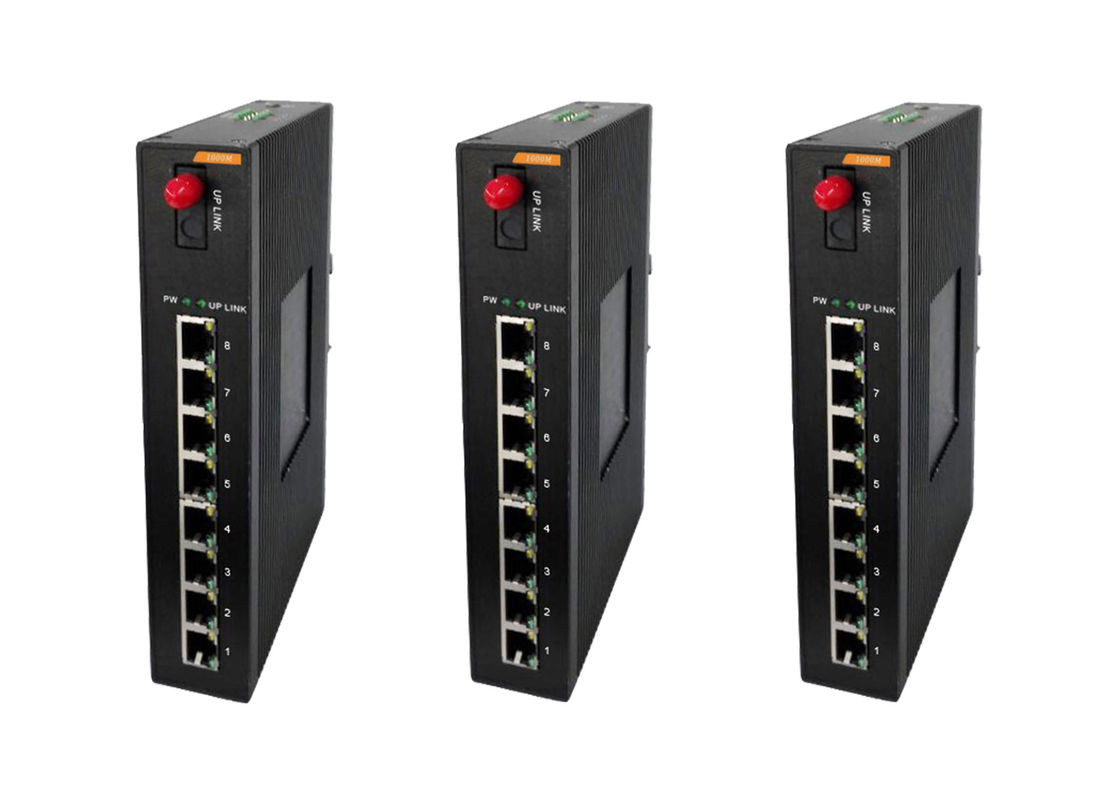 AF standard 8 port Industrial POE Switch Store & forward Processing Type Unmanaged Ethernet Switch