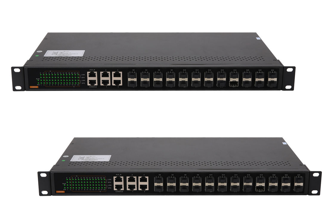 56Gbps Core network switch 26 port support SNMP management remote network power switch